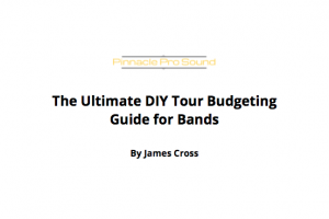 DIY Tour Budgeting for Bands