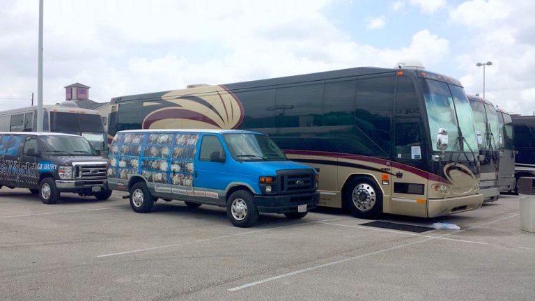 Warped Tour 2014 Bus 11